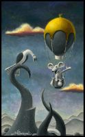 Goose Meets Mouse by Jeff1966