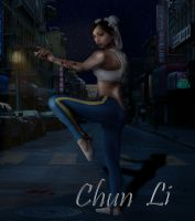 Chun Li by TellMeTheBlues