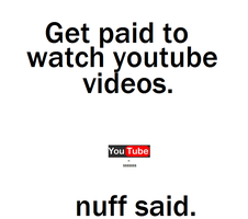 Get Paid To Watch Youtube Videos by pts4us