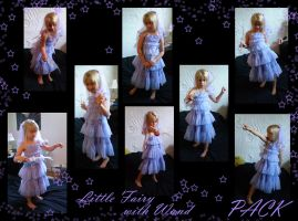 Little fairy with wand PACK by gsdark-stock