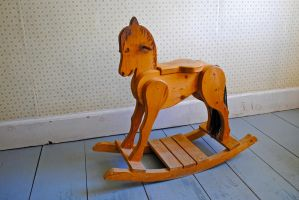 rocking horse by LucieG-Stock