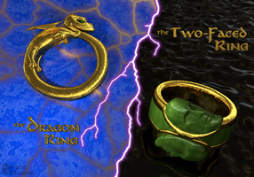 Rings of Magyk and Darke by CorellaStudios