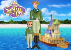 Prince James (Sofia the First) by jackoverlandfrost315