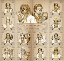 The Successors of Dr. Belacqua by ErinPtah