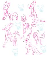 -+Species Adopts+- by BleedingColorAdopts