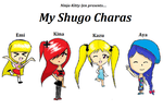 My Shugo Charas: Emi, Kina, Kazu, and Aya by Ninja-Kitty-Jen