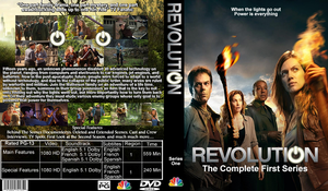 Revolution DVD Cover by GreedLin