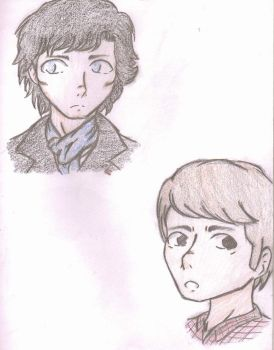 Sherlock and John by AnimePortraits