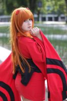 Anime Evolution '13 - Yukata Asuka by JeiArsenault