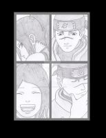 Young Iruka and Hana First meeting by Marieella86