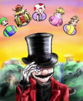 Mario and the Mushroom Factory by Alexia-Ashford