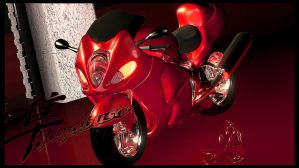 Suzuki Hayabusa by teknoledge