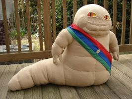 Custom plush - Boonta Hutt by silentorchid