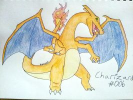Charizard #006 by BlueScarlet77