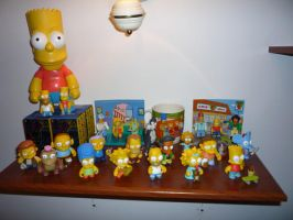 Mis Toys Los Simpsons by elgucci