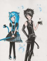Mio and Vincent by SweetlyDarkLullaby