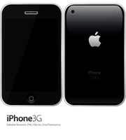 iPhone 3G Fireworks Mockup by OrionTwentyone