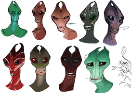 ALL THE SALARIANS... But not really -WIP- by Skelletang