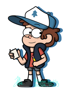 Ready When You Are! : Mason Dipper Pines by GamerSparkle