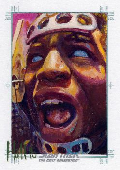 star trek tng 2 sketch card 17 by charles-hall