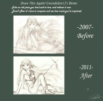 Before-After: Improvement Meme by Gwendolyn12
