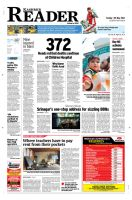Kashmir Reader Front Page by sheikhrouf23