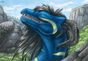 ACEO for Kayrea by Dragarta