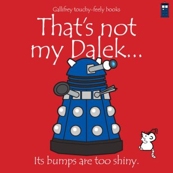 Gallifrey touchy-feely books by deezoid