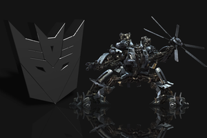 Blackout Transformers (Decepticon) by PlaviDemon