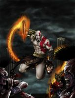 god of war 3 by AbsolumTerror