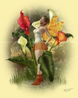 The Cala Lily Fae by ImaginedMoments