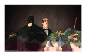 Bat Turtles by HawkStudios