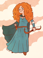 Merida by SirPaahdin