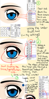 Eyes Tutorial by Inupii