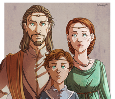 Family portrait by Eninaj27