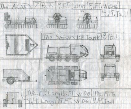 Some more incomplete vehicles. by Sir-Well-Borne