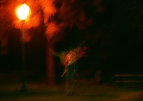she explodes at night by Ferreson