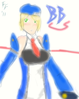 Noel Vermillion sketch yay by FlashFumoffu