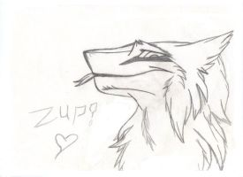 Me as a Sergal by EagerFox