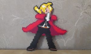 Edward Elric in perler by RavenTezea