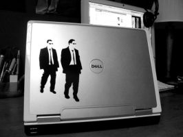 Reservoir Dogs - Laptop by T1M3B0MB