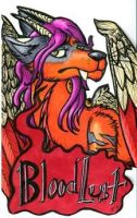 Bloodlust Badge by buttfire
