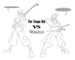 TENGU vs RONIN by Ronin-ink