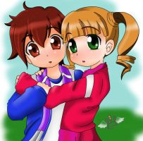 Amor Anime by chicajamonXD