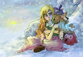 Link In The Snow by some-hipster