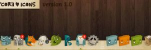 Artcore Icons v1.0 by artcoreillustrations