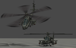 AH64 Apache - Rigged by ProgammerNetwork