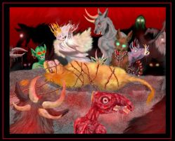 The Slaying of Aslan by Shadsie