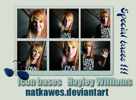 Icon bases - Hayley Williams by Natkawes