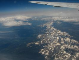 Mountains from Above by Frankenteddy
